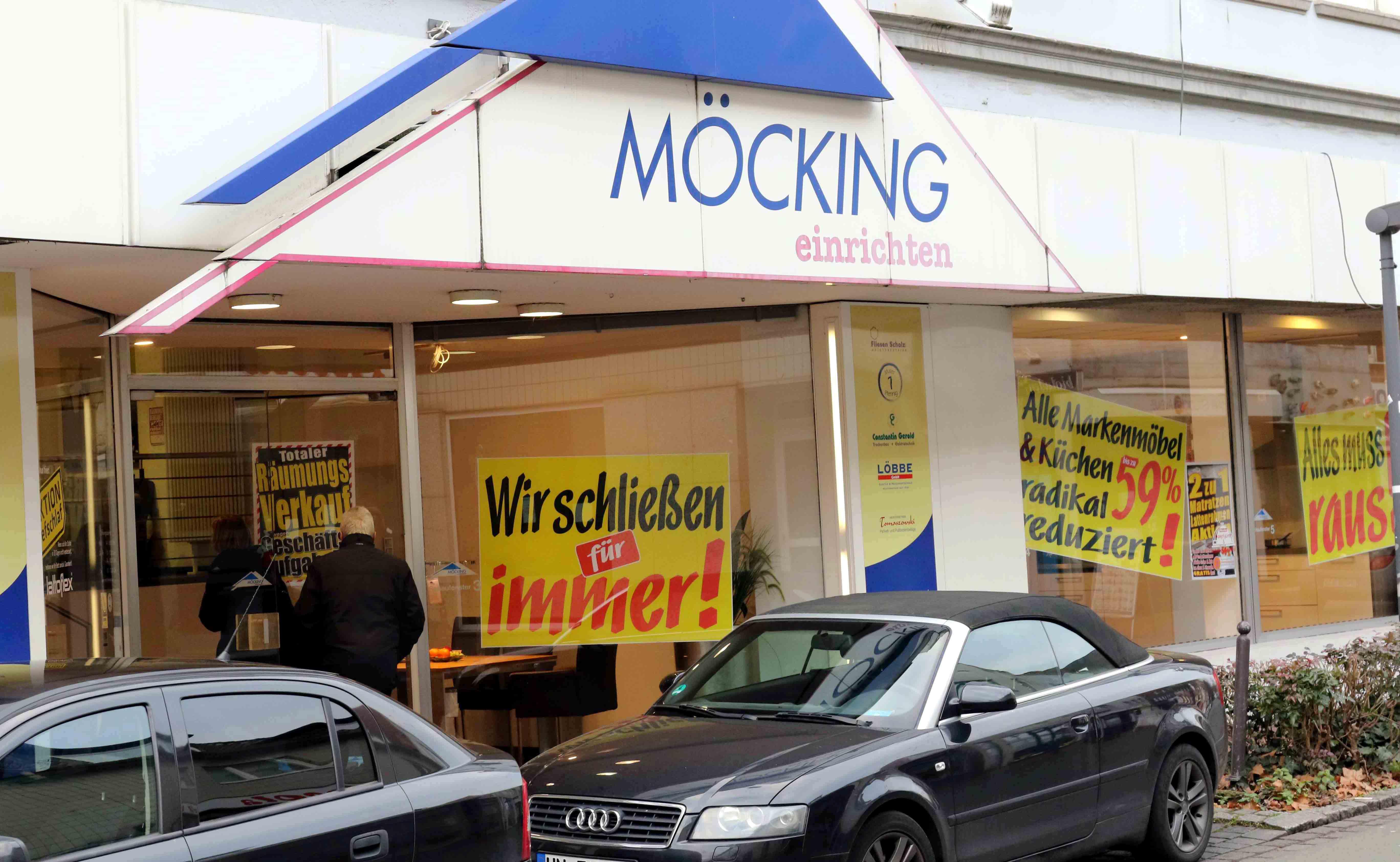 Ende Einer ära Möbelhaus Möcking Schließt Nachrichten Aus Kamen