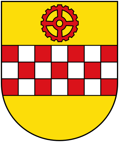 Das Wappen der Stadt Kamen (Quelle: Wikipedia)