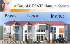 ALL DENTE Haus - Praxisklinik - Zahnarzt