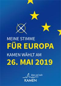 Europawahl 2019 - Stadt Kamen
