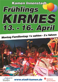 Frühlingskirmes in Kamen