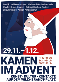 Kamen im Advent
