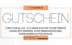 Kamen Gutschein 240