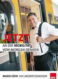 SPD Landratskandidat Mario Löhr