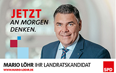 SPD Landratskandidat Mari Löhr