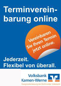Anzeige Volksbank Kamen Werne eG