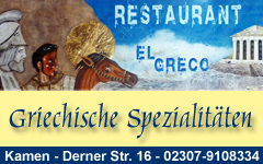 El Greco  - Griechische Spezialitäten