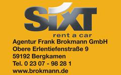 Anzeige: Brokmann Sixt Agentur