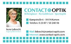 Contact Optik Kamen