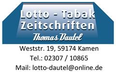 Anzeige Lotto Dautel