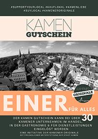 Kamen Gutschein