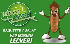 Lecker Bissen - Baguette / Salate