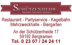 "Gaststätte ""Schützenheide"""