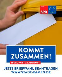 SPD Wahlwerbung