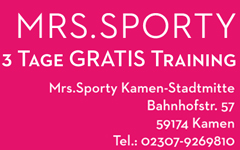 Mrs.Sporty Kamen-Stadtmitte