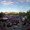 EM - Fan - Arena auf dem Markt in Kamen - Dänemark : Deutschland - 17.06.2012