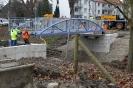 Neue Fußgängerbrücke am Mühlentorweg ist da - 15.01.2021