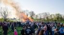 Osterfeuer am Feuerwehrhaus Südkamen in der Dortmunder Allee - 21.04.2019